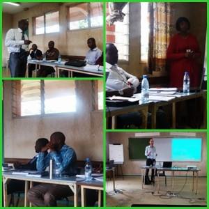 Participants à la formation de  UCAC / Cameroun